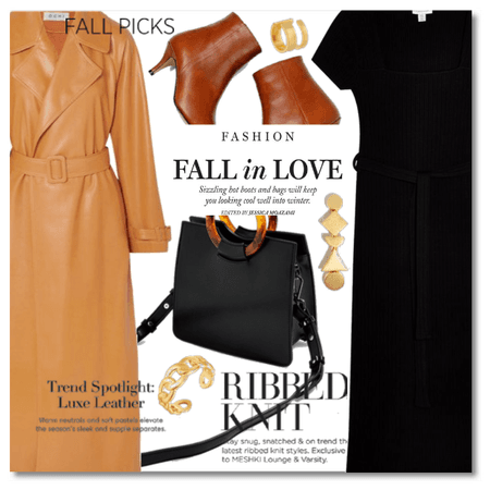 Fall in Love: Knits and Leather