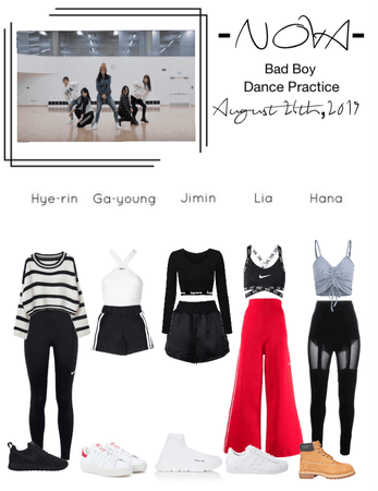 -NOVA- 'Bad Boy' Dance Practice