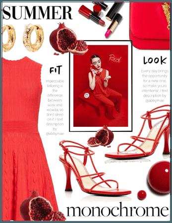 Summer Monochrome ( Red Palette )
