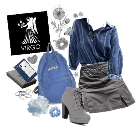 virgo: grey&blue