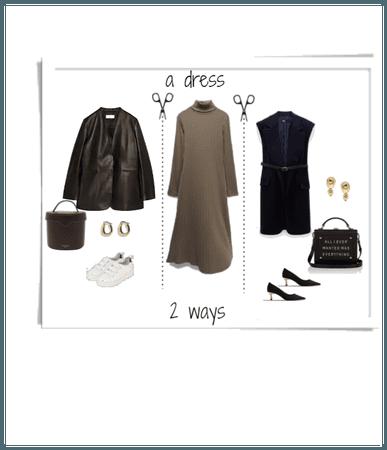 A dress, 2 ways