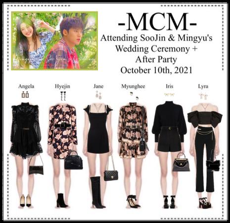 (미랔울움) MIRACULUM - [𝙈𝘾𝙈] Attending SooJin & Mingyu's Weeding