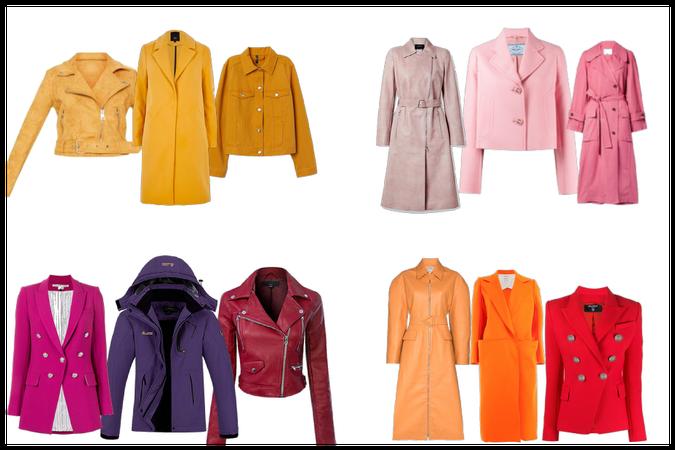 jackets colors