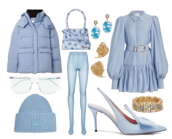 Light blue winter