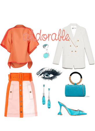 Teal and Orange look