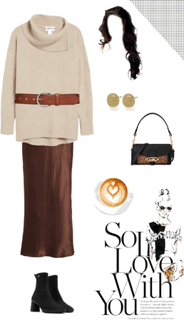Fall romantic outfit #feminine #romantic #brunch #weekend