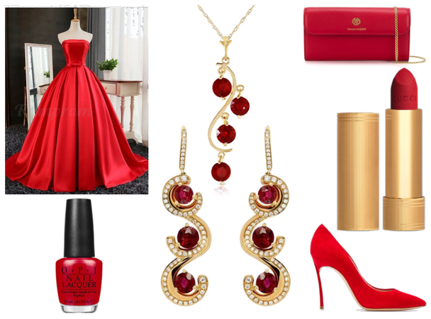 Grand Ball - Red