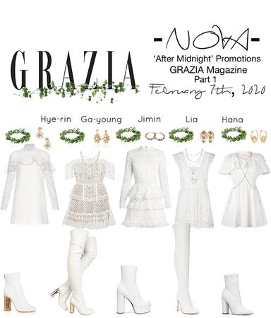 -NOVA- 'After Midnight' GRAZIA Magazine pt 1