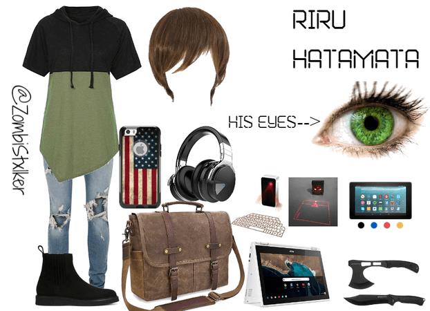 Shadow Hunter Oc: Riru Hatamata's Casual Look (Human Form)