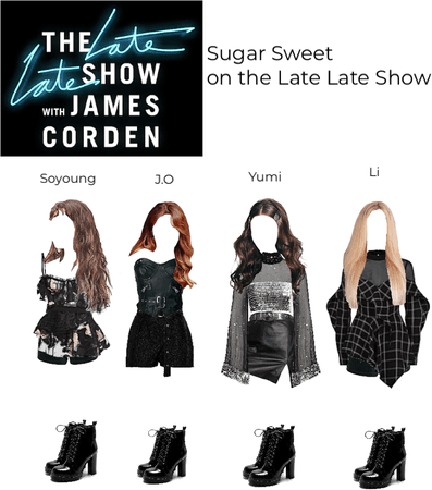 Sugar Sweet on the Late Late Show