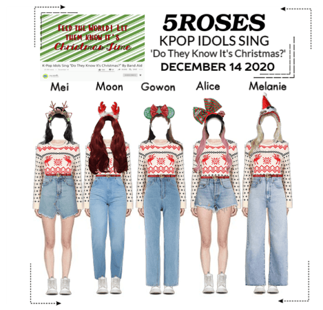 5ROSES 'Do They Know It's Christmas' Idol Video