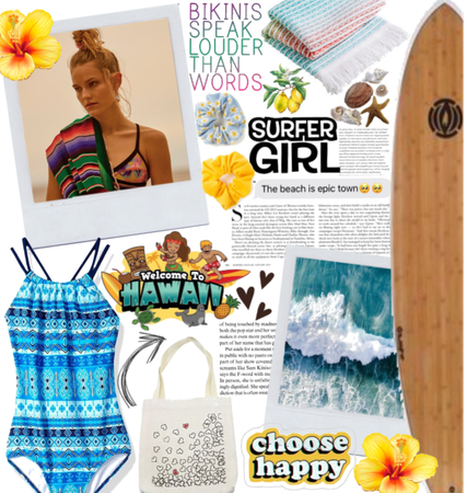 Welcome To Hawaii: Surfer Girl Style.