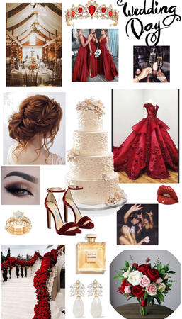 red like roses 🌹
