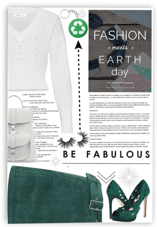 FASHION Meets Earth Day.