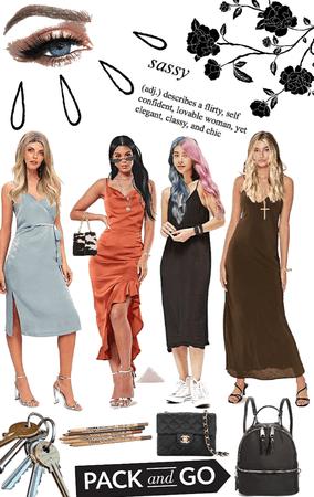 slip dress what colour?