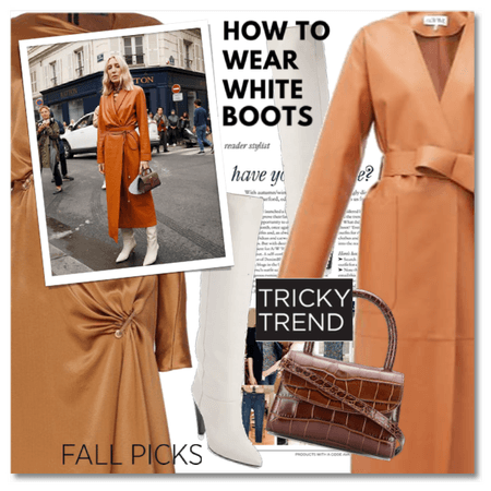 Fall Trend: White Boots