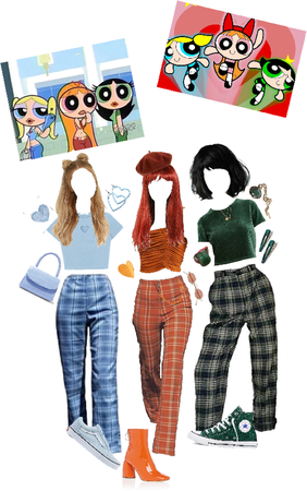 Power Puff Girls Halloween costume