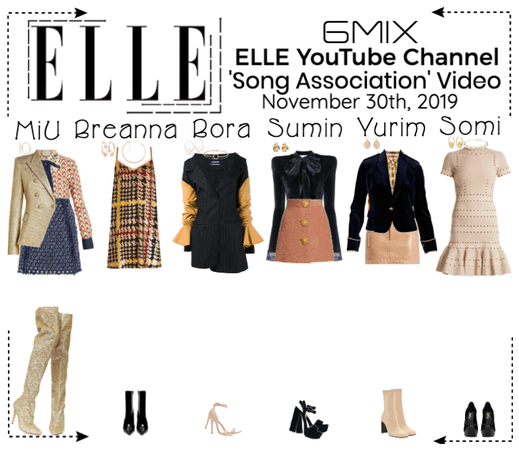 《6mix》Elle YouTube Channel Video