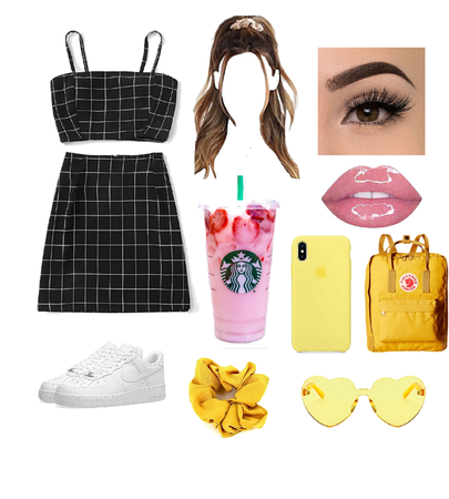 Scorpio Casual but Cute Black and Yellow