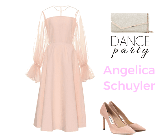 Angelica Schuyler Party Outfit 1
