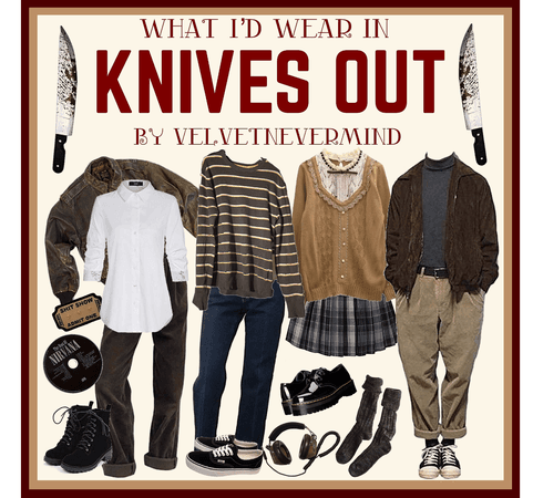 """WHAT I'D WEAR IN """"KNIVES OUT"""""""