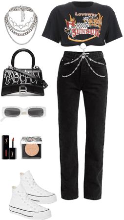 Black & White OOTD