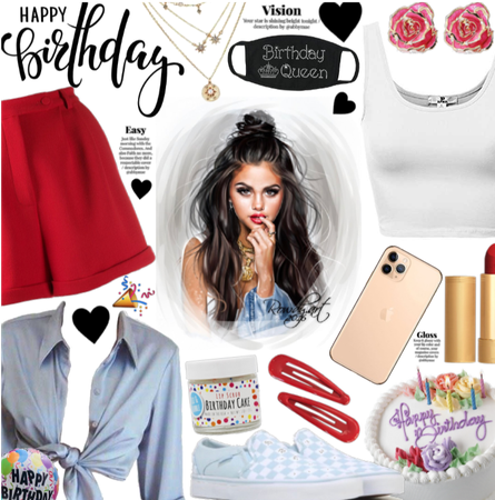 Selena| our queen| birthday style