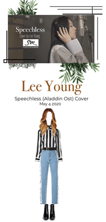 [Lee Young] Speechless Cover (Aladdin Ost)