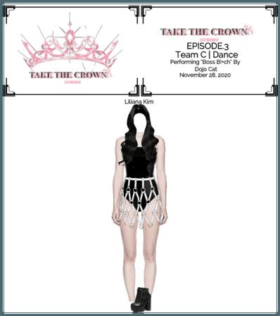 """Take The Crown""Ep.3[Team C][Vocalist] Liliana Kim"