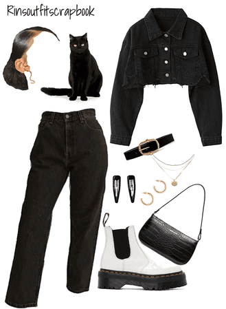 Black cat fit🖤