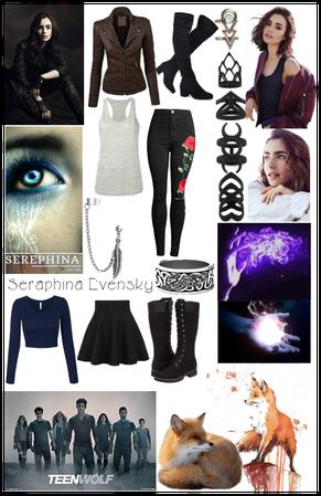 Teen Wolf Oc Seraphina Evensky