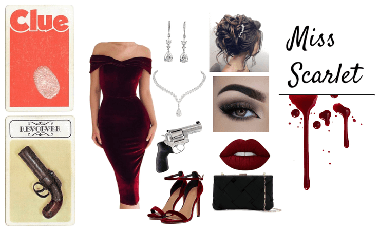 Miss Scarlet - Clue