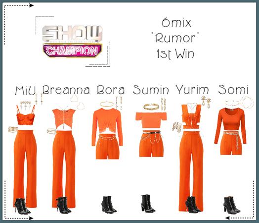 "《6mix》Show Champion Stage ""Rumor"""
