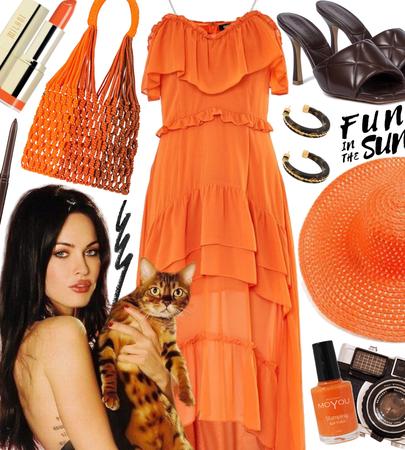 SUMMER 2021: Orange Chic