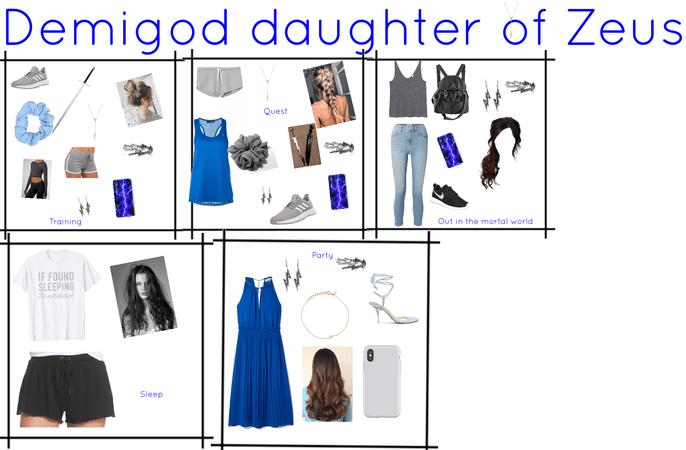 demigod daughter of Zeus