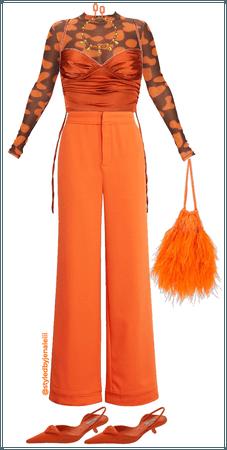 All Orange Monochrome