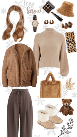 Brown Outfit for Winter