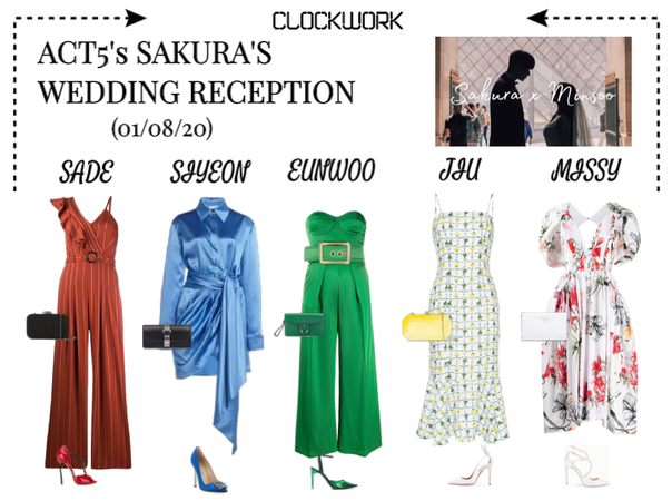 *CWK* | ACT5 SAKURA'S WEDDING RECEPTION
