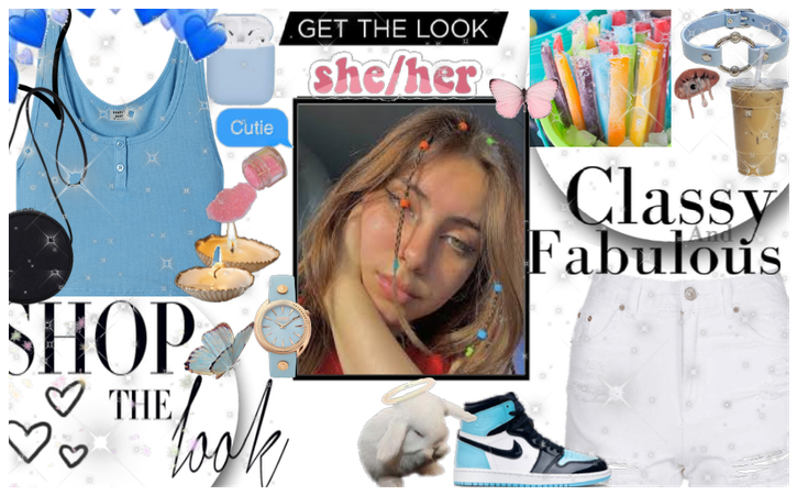 get the look babe