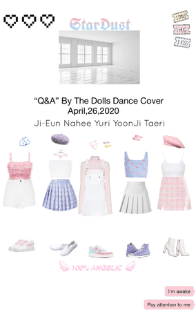 "Star Dust Dance Cover ""Q&A"" by The Dolls"