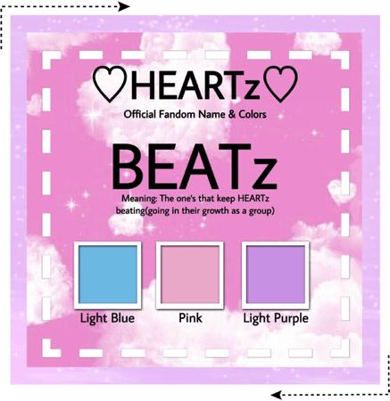 HEARTz//Fandom Name + Colors