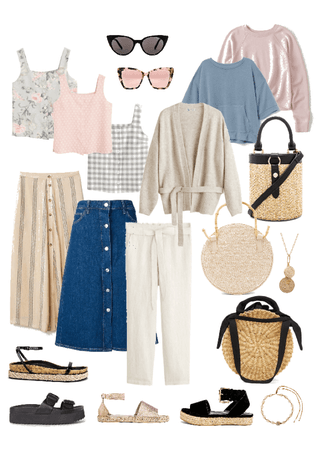Set vacation outfit