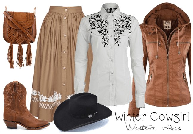 Winter Cowgirl - western vibes