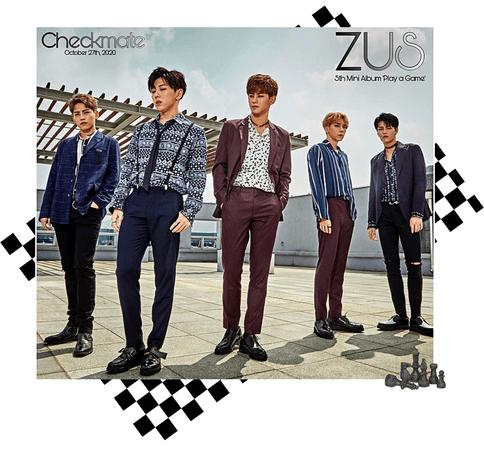 Zus// 'Checkmate' Group Teaser Photo 'Play' Ver