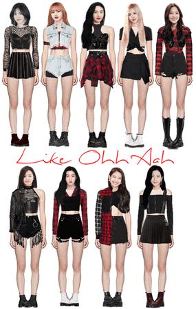 Like Ohh Aah Stage 2 (fake kpop group)