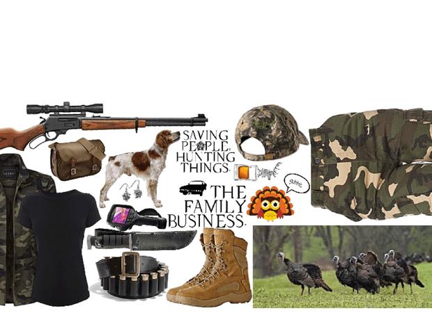 Hunting For Turkeys