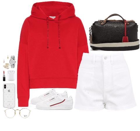 Red Little Girl