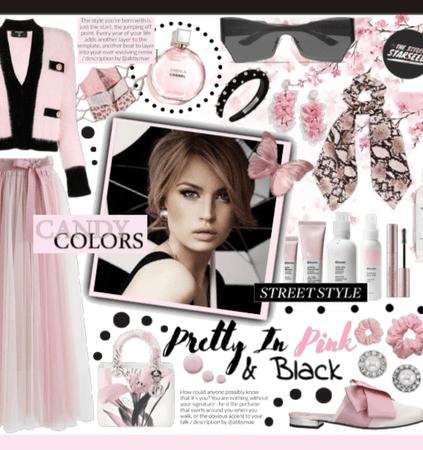Summer Pink & Black