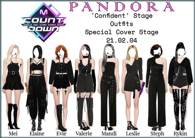 PANDORA [MCountdown] 'Confident' Cover