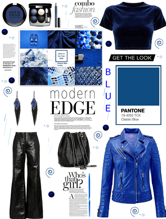 Pantone color of the year.  blue